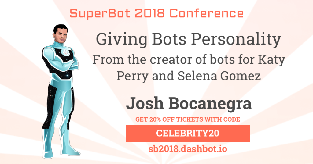 Discount Code for Bot Conference