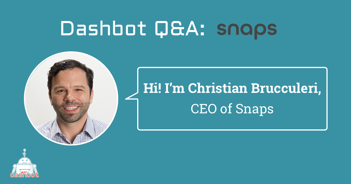 In Conversation with Snaps' CEO Christian Brucculeri