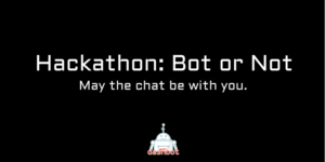 Dashbot presents Hackathon: Bot or Not