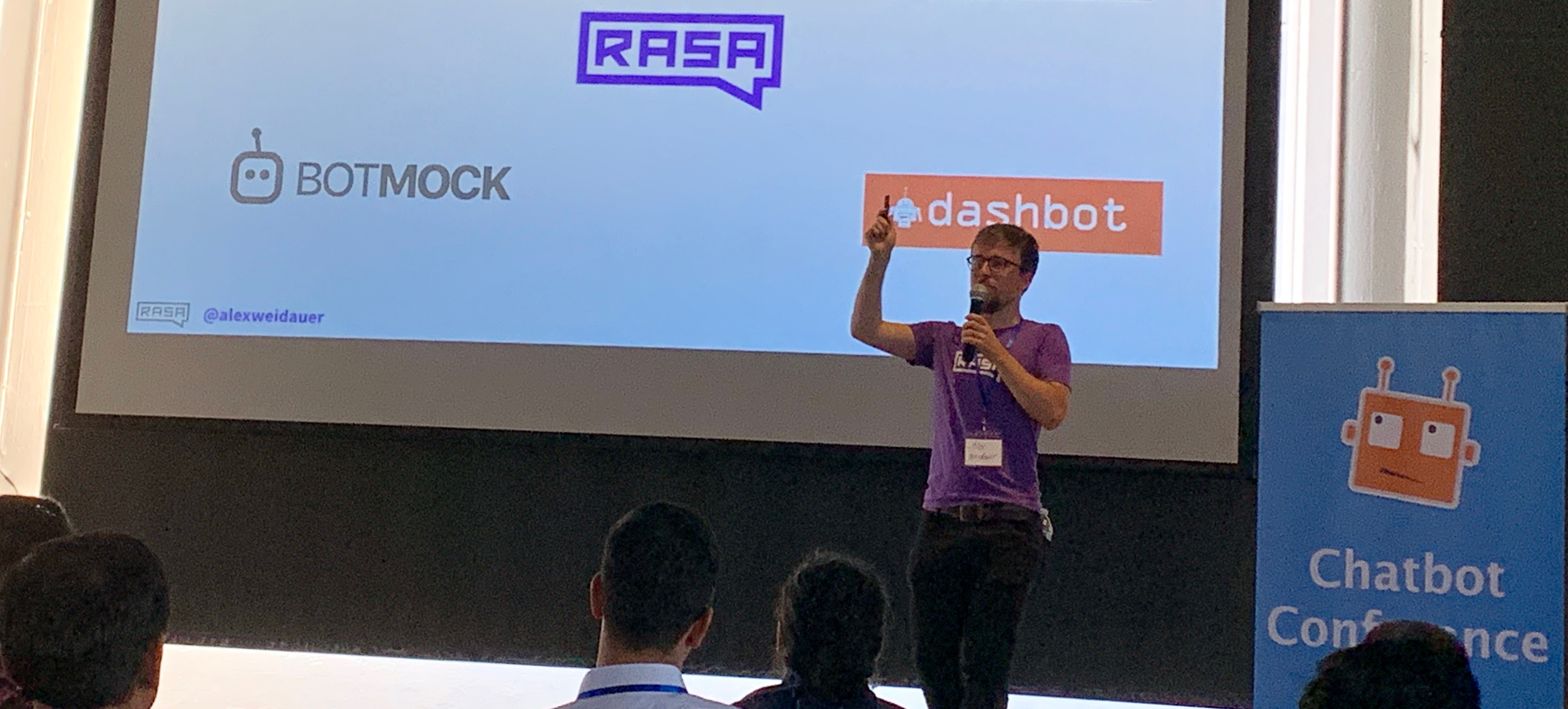 The future of chatbots at the Chatbot Conference