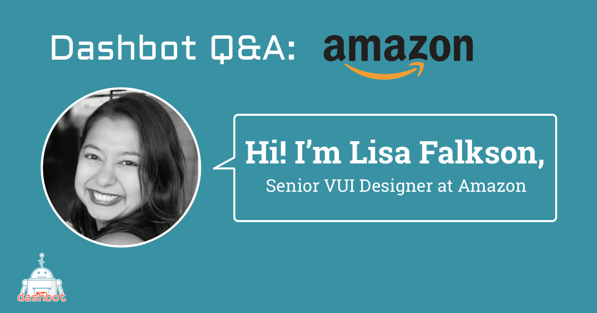 Meet Lisa Falkson, Senior Voice User Interface Designer at Amazon