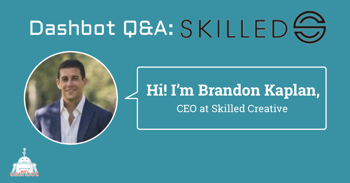 Meet Brandon Kaplan, CEO of Skilled Creative