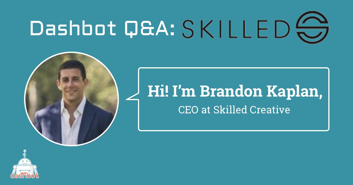 Meet Brandon Kaplan, CEO of Skilled Creative
