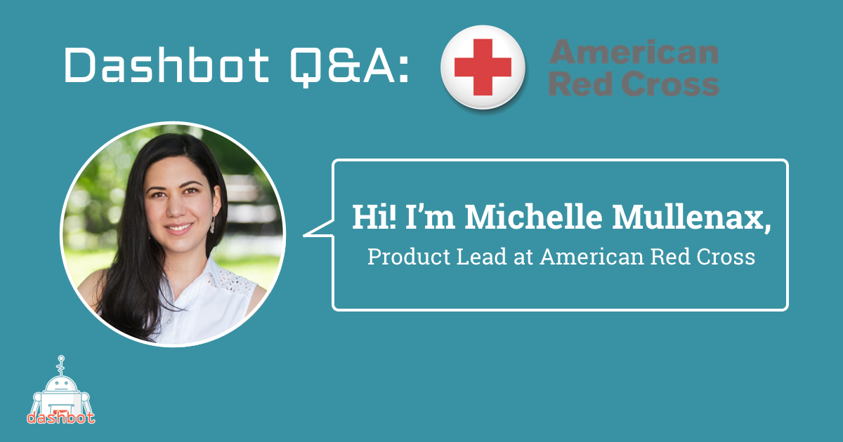 Meet Michelle Mullenax, Product Lead at the American Red Cross